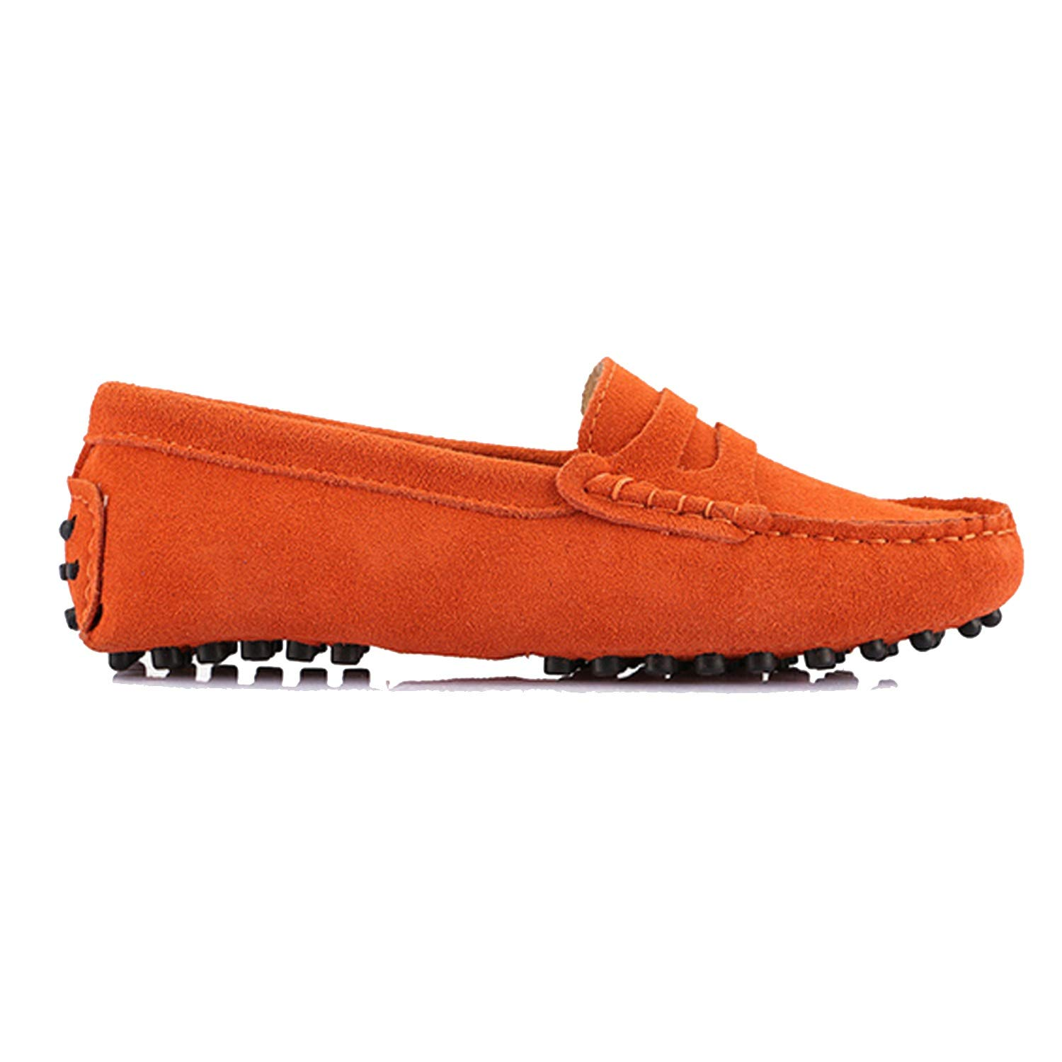 orange Women's Woman shoes Flats Casual Loafers Soft Slip On Moccasins Lady Driving shoes