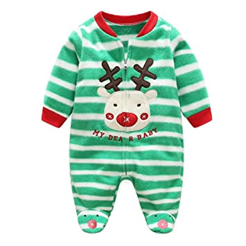 f23a253bb Toddler Girls Boys Footed Overall - Mxssi Newborn Baby Romper Animal ...
