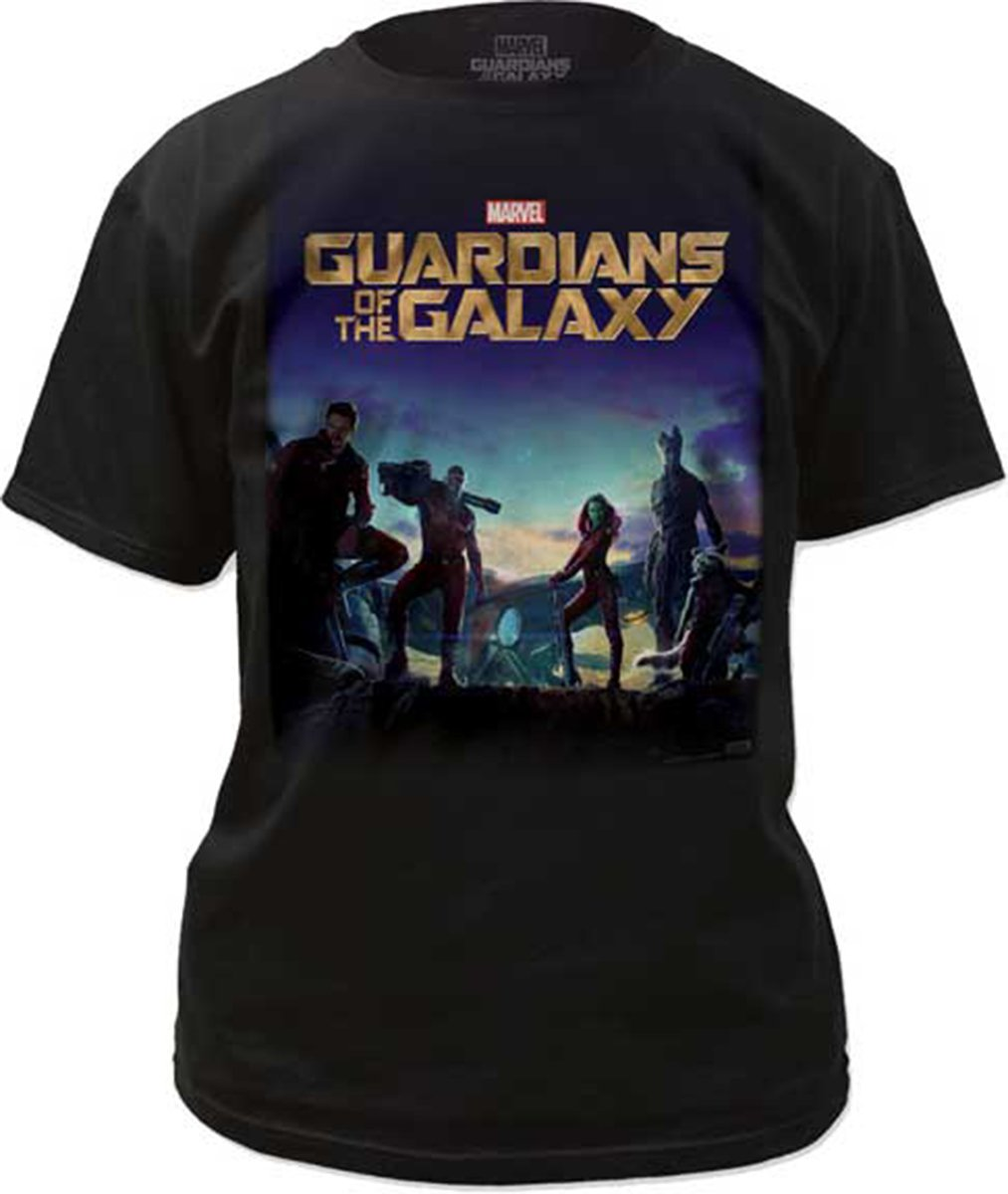 Poster Guardians Of The Galaxy Tshirt