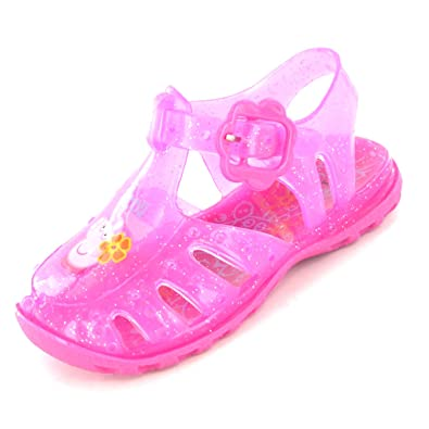 2187cd639c12 Peppa Pig Harrow Pink Girls Jelly Sandal  Amazon.co.uk  Shoes   Bags