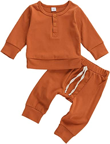 Pantalones Algodón Bebé Pijama Última 2pcs Juego Niño Niña Ropa Top
