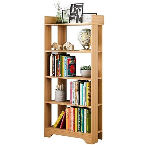 Amazon.com: Sunsamy Bookshelf, Modern Wood Bookshelf Home ...