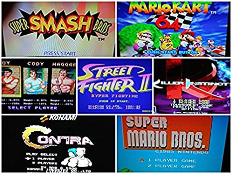 128GB Retropie with 100,000 Games plus KODI and PIXEL OS