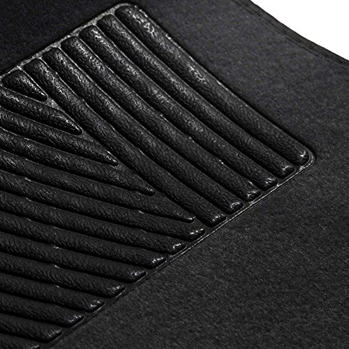 FH Group F14403BLACK Black Carpet Floor Mat with Heel for sale  Delivered anywhere in USA