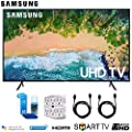 Samsung NU7100 Smart 4K UHD TV (2018) w/Surge Protector + Cleaning Kit