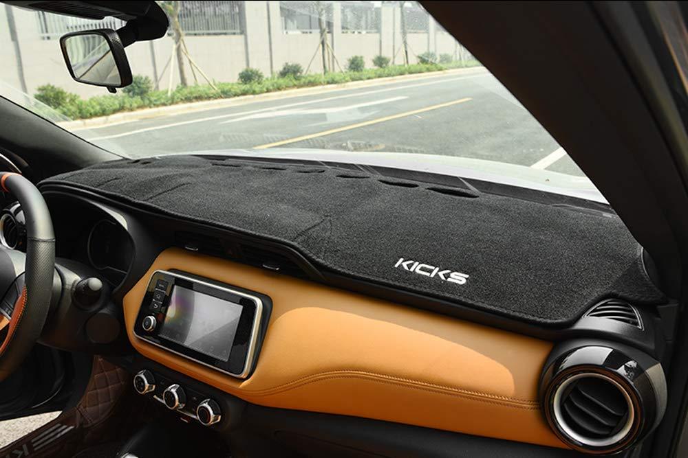 Salusy Dashboard Dash Protector Dash Mat Sun Cover Pad for Nissan Kicks 2018