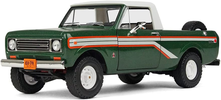 Amazon Com First Gear 1 25 Scale Diecast Collectible Emerald Green 1979 International Scout Terra Pickup 40 0391 Toys Games