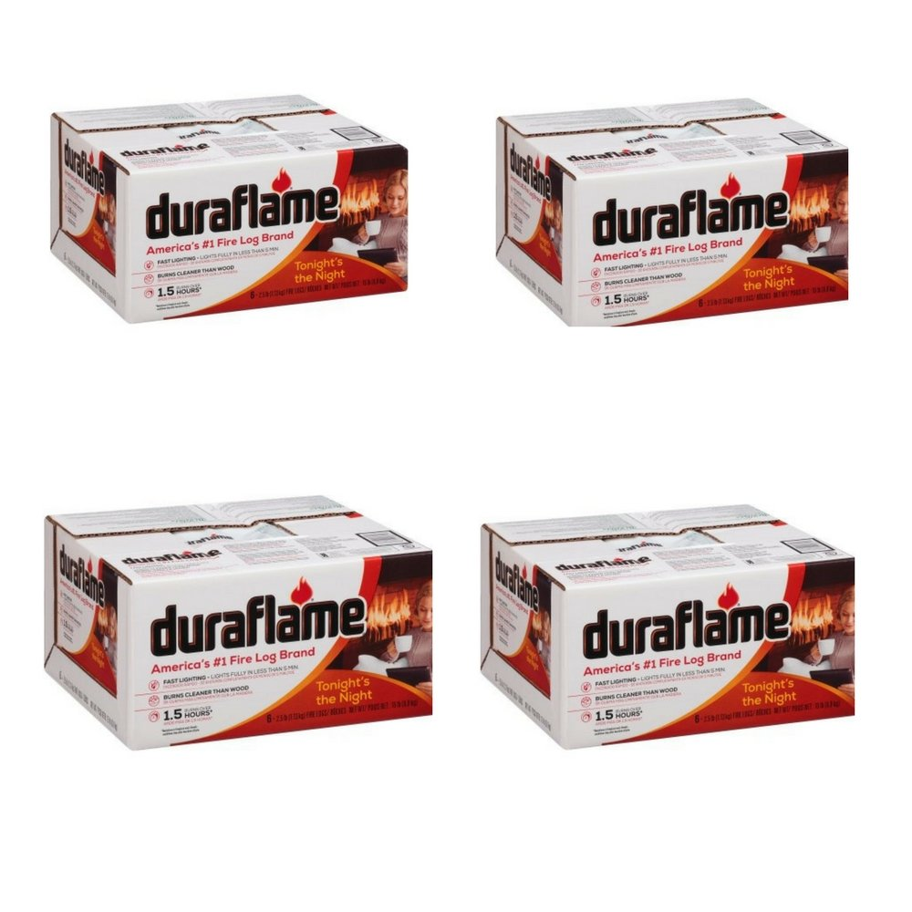 Duraflame 625 Firelog 2.5 lb (4 pack) by Duraflame