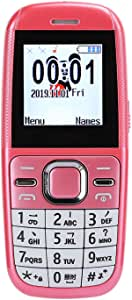 Children Cellphone, 1.44 inch HD Cartoon Unlocked Cell Phone, Dual Cards Dual Standby,Mutil-Function Children Voice Cellphone,Easy-to-Use Cell Phones(Pink)