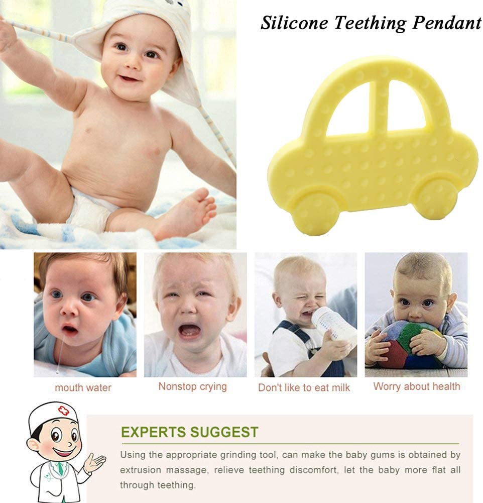 Silicone Healthy Hand Shaped Infant Mouth Care Baby Teether Grinding Teething