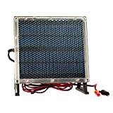 Universal Power Group 12-Volt Solar Panel Charger for 12V 9Ah Altronix LPS5C12X SLA Battery