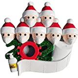 Xinfenglai Personalized Quarantine Family 2020 Christmas Ornament Xmas Ornaments Christmas Tree Ornaments Christmas Decoratin