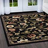 Home Dynamix Optimum Amell 7'8'' x10'4 Area Rug in Black