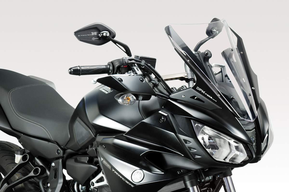 Kit Spoiler Verkleidung R-0810 DPM - Aluminium Windschutzscheibe Windabweiser Scheibe MT07 TRACER 2017 Motorradzubeh/ör De Pretto Moto Hardware Bolzen Enthalten - 100/% Made in Italy