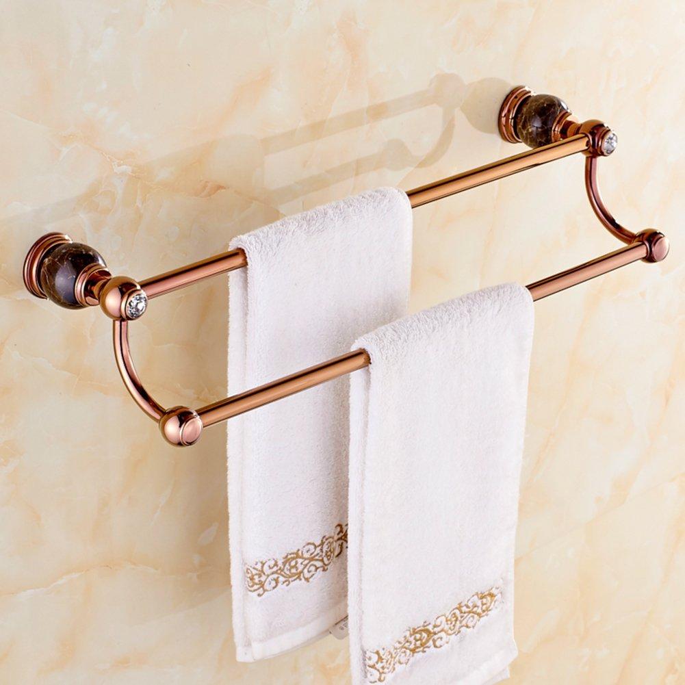 bathroom accessories towel rack copper towel bar rose gold bathroom european style bath towel. Black Bedroom Furniture Sets. Home Design Ideas