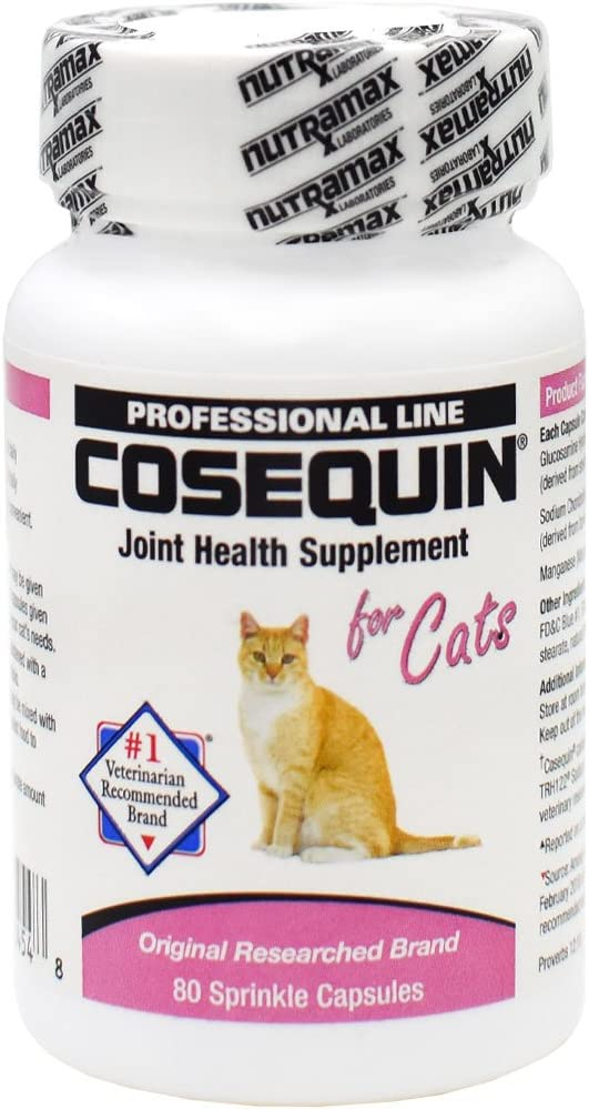 Nutramax Cosequin Sprinkle Capsules for Cats