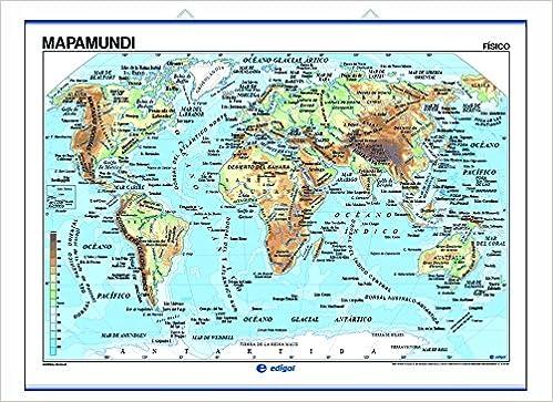 La Lengua Española en el mundo, físico / temático: Mapas Murales: Amazon.es: Edigol Ediciones: Libros