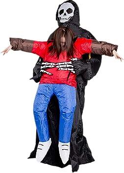 GBYAY Disfraz de Terror de Halloween Fantasma Inflable con Ropa ...