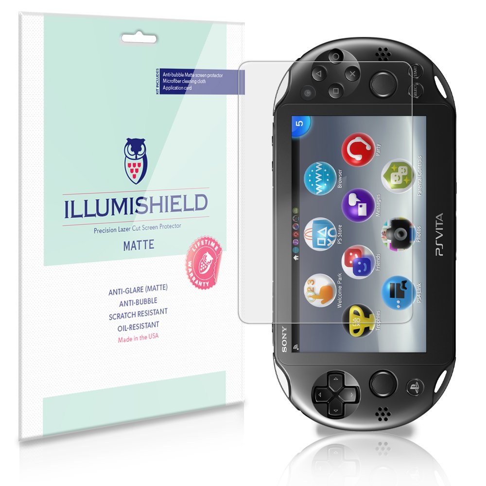 Amazon com: iLLumiShield Matte Anti-Glare Screen Protector
