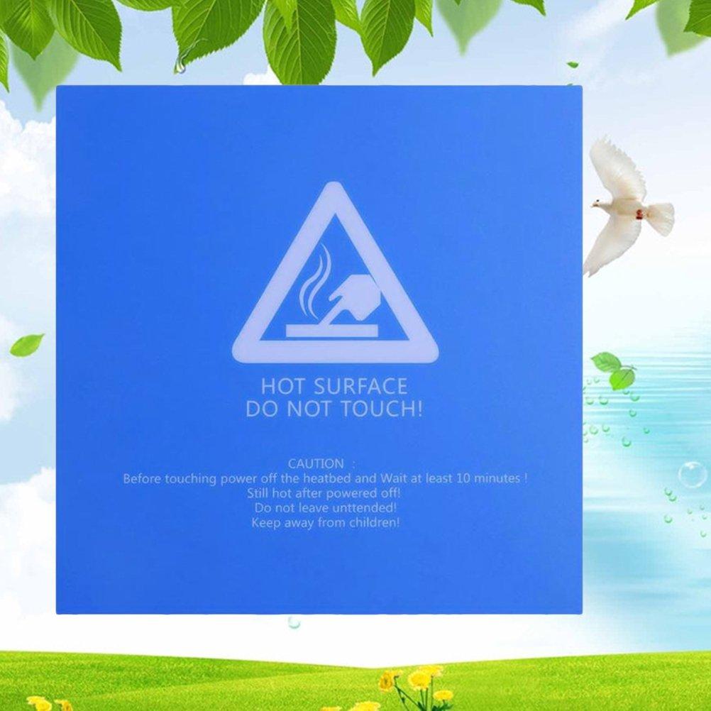 내구성 서리로 덥은 재사용 가능한 온수 침대 필름 스티커 프로텍터 3D 인쇄 부품 액세서리 공급