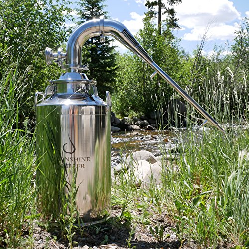 13 gallon stainless milk can - 5