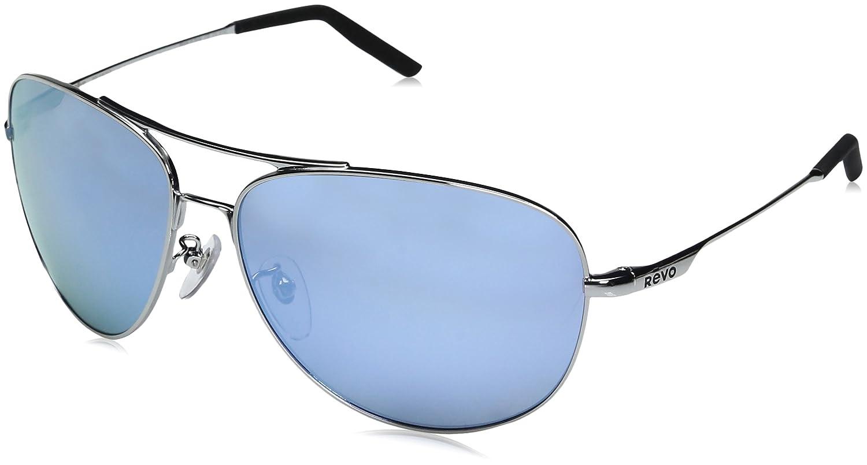 91bcefe330 Revo Unisex RE 1022 Windspeed II Aviator Global Fit Polarized Sunglasses