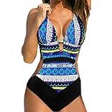 Donne push-up bikini stampato Boemia un pezzo costumi da bagno costume ,Yanhoo® Costume Mare da Donna Tkini Costume Costume Intero Push up Bikini Sexy Swimsuit Coordinati Beachwear