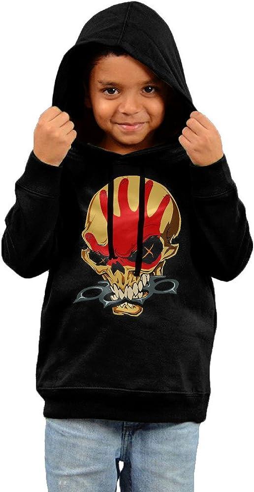 2-6 Toddler Five Finger Death Punch Skull Head Handprint Logo Art Hoodie Sweatshirt