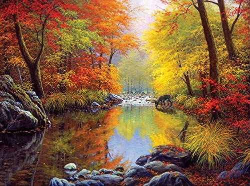 Price comparison product image Autumn Sanctuary 1000 Piece Jigsaw Puzzle by SunsOut