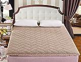 WCCT Thickened tatami mattress,Single double student dormitory mattress,Sponge folding mat-B 150x200cm(59x79inch)