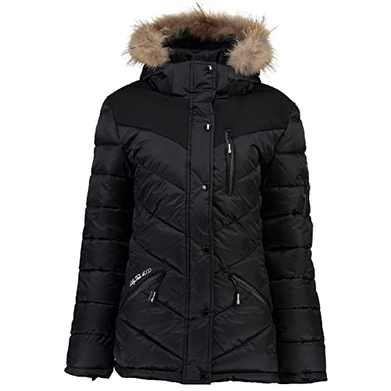 Geographical Norway - Chaqueta - Blusa - para Mujer Negro L