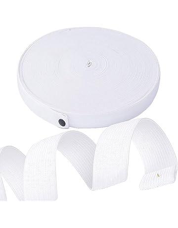 40m 2cm Elastique Blanc Plat Tricoté Bande Ruban pour Coudre Vêtement  Accessoire Bricolage Couture DIY f04815a22fd1