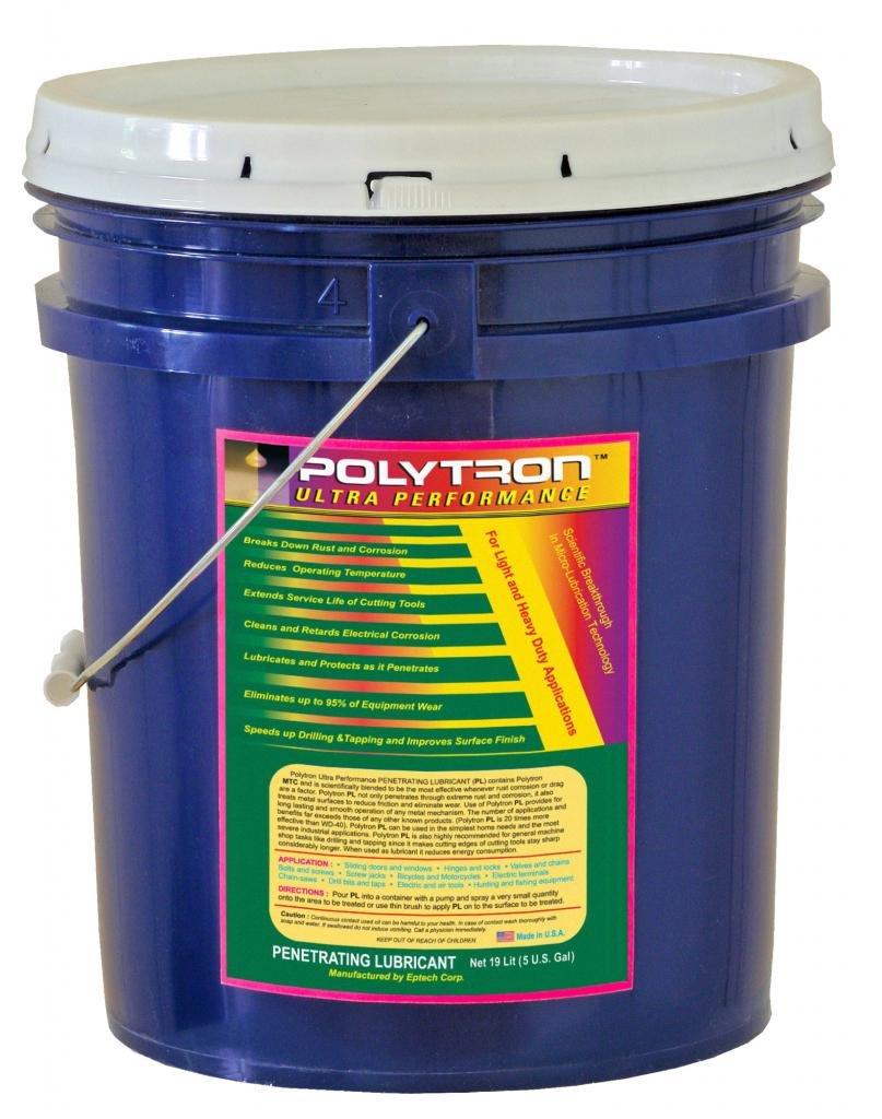 Polytron Penetrating Lubricant (PL) 5 Gallon (19L) Pail - Military Industrial Grade by Polytron