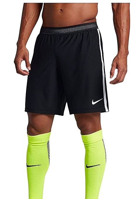 3532b23daf Amazon.com : NIKE Mens Strike Aeroswift Soccer Shorts Black/White ...