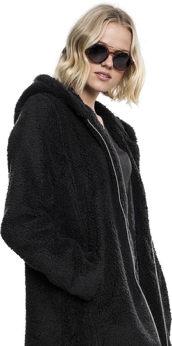 Urban Classics Ladies Sherpa Jacket Felpa Donna