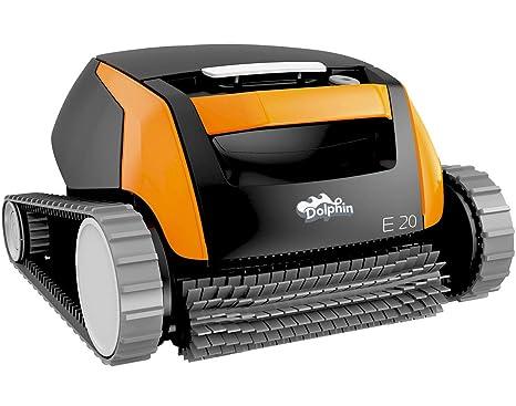 Robot para piscina Dolphin E10 / E20 / E25 completamente automático, dispositivo para suelo y paredes de Time4wellness