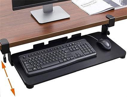 Vassoio ergonomico per tastiera sotto la scrivania