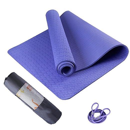 Wuyou-Yoga Mats 201905 - Colchoneta de Yoga, Color Azul ...