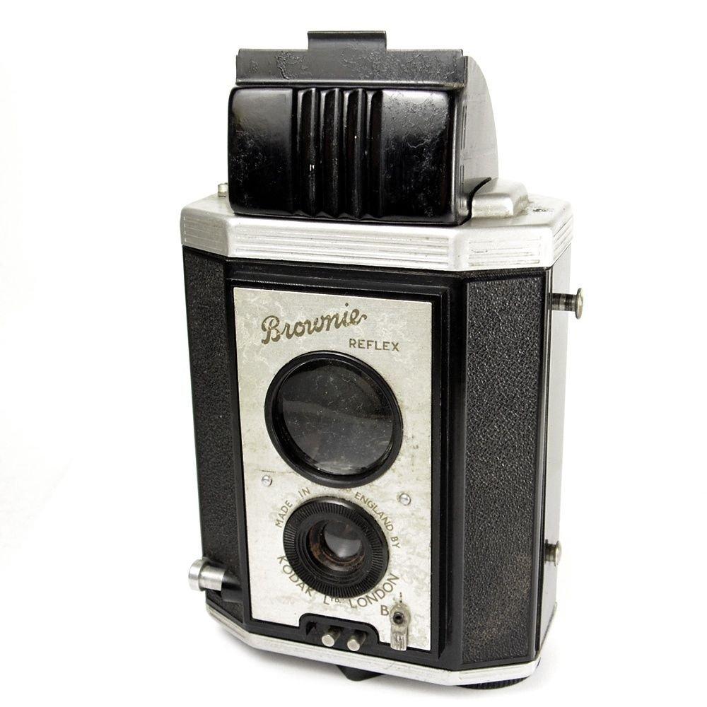 Kodak Brownie Reflex Vintage 50 de estilo Art Deco TLR 127 Cámara ...