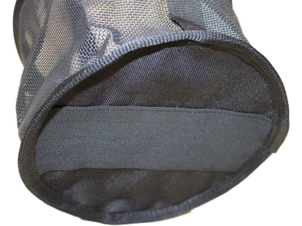 Feed Bag for Horses, Heavy Duty Durable Canvas Grain Feedbag Size: Medium (Horse)