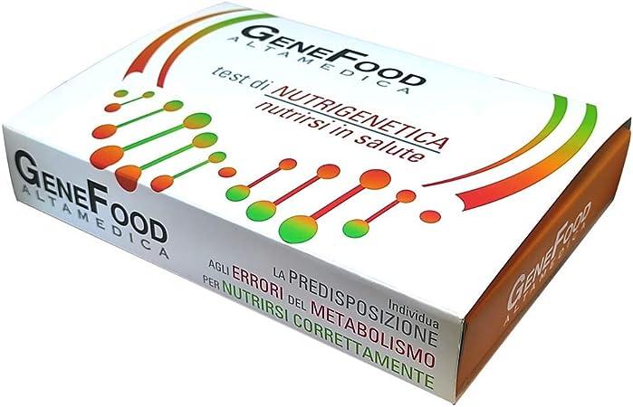 Genefood Base Dna Test Per Controllo Del Metabolismo Kit Analisi Con Tampone Per Una Dieta Personalizzata Amazon It Salute E Cura Della Persona