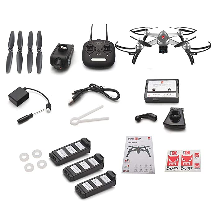 MJX Bugs 5 W b5 W GPS RC Drone Quadcopter con 1080 p 5 G FPV ...