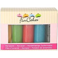 FunCakes Mazapán Multipack Essential Colours Suave, Flexible, Halal, Kosher y sin Gluten. Libre de Halal, Kosher y…