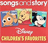 Disney Songs and Story Children's Favorites 3 CD SET Includes: Finding Nemo, Winnie the Pooh and the Honey Tree, & Mickey Mouse in Blaggard Castle