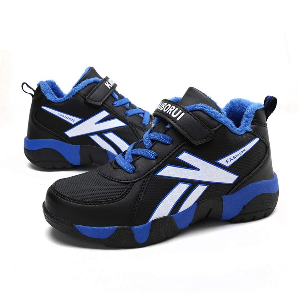 ROKIDS Fashion Kids Waterproof Sneakers Boys Single//Plus Velvet Shoes