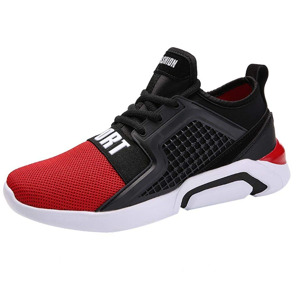 Mysky Men Sports Running Shoes Breathable Sneakers Weight Athletic Jogging Hiking