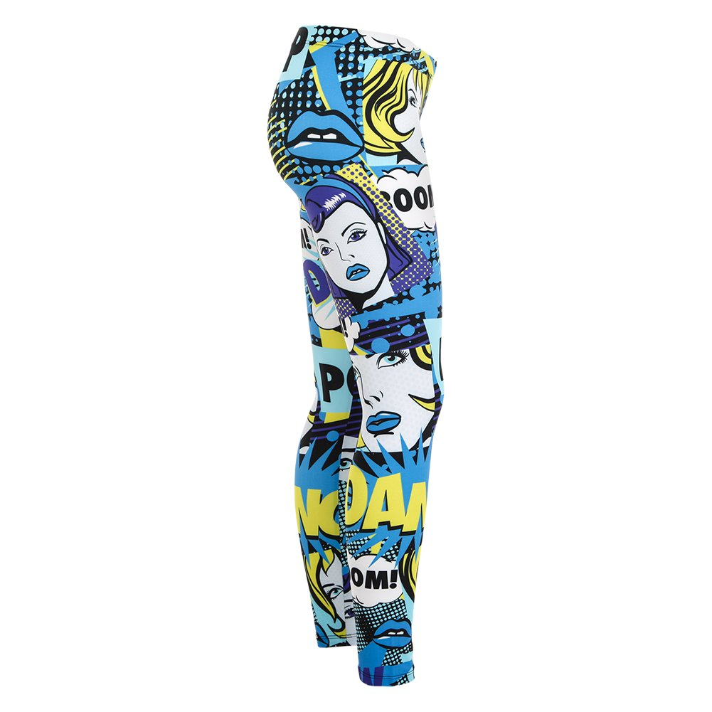 Alexandra Collection Youth Pow Pop Art Printed Athletic Leggings