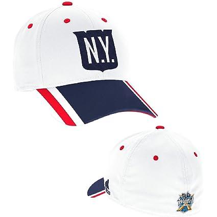 67955384ebadeb Amazon.com : adidas York Rangers 2018 Winter Classic Flex Fit Hat ...