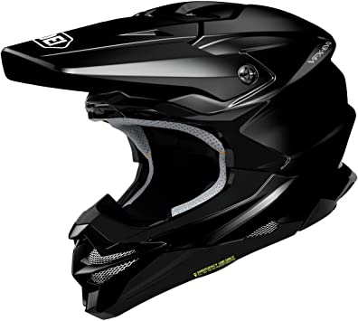 Shoei VFX-EVO Off-Road Motorcycle Helmet - Black/Large
