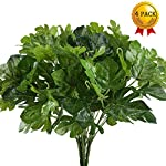 Artificial-Plants-Nahuaa-4PCS-UV-Protected-Silk-Tropical-Palm-Leaves-Fake-Greenery-Shrubs-Faux-Bush-Bundle-Indoor-Outdoor-Home-Kitchen-Office-Windowsill-Table-Centerpieces-Arrangements-Spring-Decorat